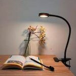 Best clip-on reading lights for books in beds