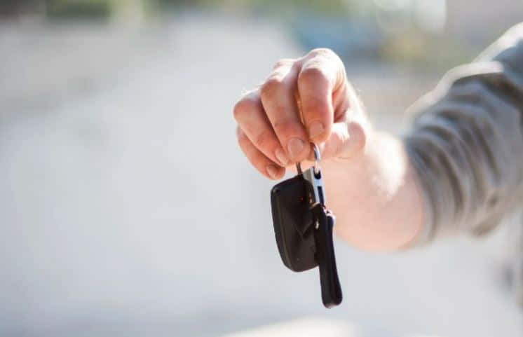 Process of buying a car from a dealer